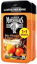 Düfte, Parfümerie und Kosmetik Haarpflegeset - Le Petit Marseillais Orange Tree and Argan Shampoo Shower Gel (Shampoo und Duschgel 2x250ml)