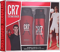 Düfte, Parfümerie und Kosmetik Cristiano Ronaldo CR7 - Körperpflegeset (Duschgel 200ml + Deospray 114g)