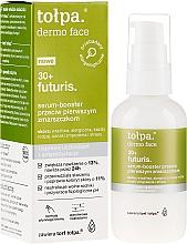 Düfte, Parfümerie und Kosmetik Gesichtsserum-Booster gegen die ersten Falten - Tolpa Dermo Face Futuris 30+ Serum Booster