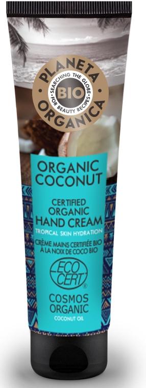 Feuchtigkeitsspendende Handcreme mit Bio Kokosöl - Planeta Organica Organic Coconut Hand Cream