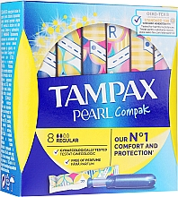 Düfte, Parfümerie und Kosmetik Tampons mit Applikator Regular 8 St. - Tampax Pearl Compak Regular