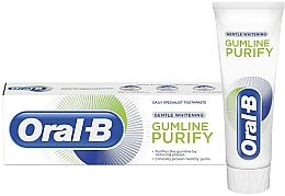 Düfte, Parfümerie und Kosmetik Aufhellende Zahnpasta gegen Plaque - Oral-B Gumline Purify Gentle Whitening Toothpaste