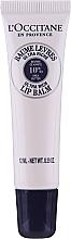 Düfte, Parfümerie und Kosmetik Feuchtigkeitsspendender Lippenbalsam mit Sheabutter - L'Occitane Lip Balm 10 % Shea Butter