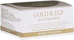 Düfte, Parfümerie und Kosmetik Hydrogel-Augenpatches mit Gold - Petitfee & Koelf Gold&EGF Eye&Spot Patch