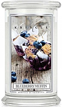 Düfte, Parfümerie und Kosmetik Duftkerze im Glas Blueberry Muffin - Kringle Candle Blueberry Muffin
