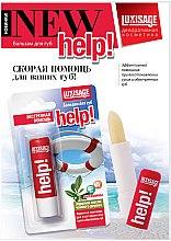 Düfte, Parfümerie und Kosmetik Pflegender Lippenbalsam mit Vitaminen A, E und Teebaumöl - Luxvisage