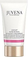 Düfte, Parfümerie und Kosmetik Regenerierendes Anti-Falten Konzentrat für Dekolleté - Juvena Juvelia Nutri Restore Decollete Concentrate