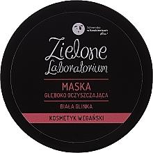 Düfte, Parfümerie und Kosmetik Tiefreinigende Gesichtsmaske mit weißem Ton - Zielone Laboratorium