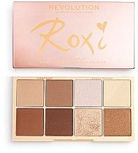 Düfte, Parfümerie und Kosmetik Highlighter- und Konturierpalette - Makeup Revolution Roxxsaurus Roxi Highlight & Contour Palette