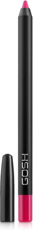 Wasserfester Lippenkonturenstift - Gosh Velvet Touch Waterproof Lipliner