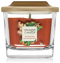 Düfte, Parfümerie und Kosmetik Duftkerze im Glas Sweet Orange Spice - Yankee Candle Elevation Sweet Orange Spice
