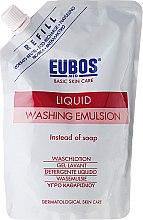 Düfte, Parfümerie und Kosmetik Waschlotion - Eubos Med Basic Skin Care Liquid Washing Emulsion Red (Doypack)