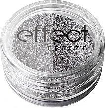 Düfte, Parfümerie und Kosmetik Glitterpuder für Nägel - Silcare Freeze Effect