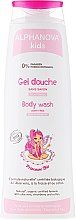 Düfte, Parfümerie und Kosmetik Duschgel für Kinder mit Aloe Vera, Baumwolle und Erdbeeren - Alphanova Kids Princesse Body Wash
