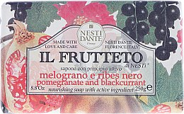 """Düfte, Parfümerie und Kosmetik Seife """"Granatapfel und Johannisbeer"""" - Nesti Dante Il Frutteto Soap"""