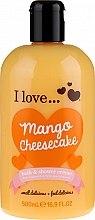 Düfte, Parfümerie und Kosmetik Bade- und Duschcreme Mango Cheesecake - I Love... Mango Cheesecake Bath And Shower Cream