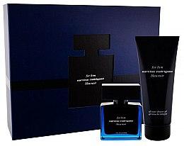 Düfte, Parfümerie und Kosmetik Narciso Rodriguez For Him Bleu Noir - Duftset (Eau de Parfum 50ml + Duschgel 200ml)