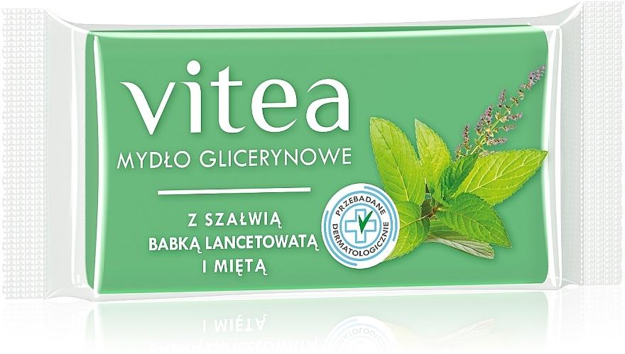 Glycerinseife mit Salbei- und Minzextrakt - Vitea Glycerin Soap
