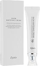 Düfte, Parfümerie und Kosmetik Feuchtigkeitsspendende und aufhellende Gesichtscreme - Esfolio Snow Whitening Cream