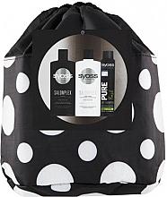 Düfte, Parfümerie und Kosmetik Haarpflegeset - Syoss Salon Plex (Shampoo 500ml + Haarspülung 500ml + Trockenshampoo 200ml + Kosmetiktasche)