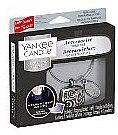 Düfte, Parfümerie und Kosmetik Autoduftanhänger - Yankee Candle Midsummer's Night Square Charming Scents Starter Kit (Medaillon + Duftstein + Charm-Anhänger + Band)