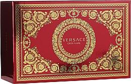 Düfte, Parfümerie und Kosmetik Versace Eros Flame - Duftset (Eau de Parfum 100ml + Eau de Parfum 10ml + Kosmetiktasche)