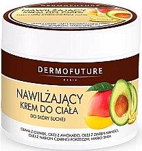 Düfte, Parfümerie und Kosmetik Feuchtigkeitsspendende Körpercreme für trockene Haut - DermoFuture Body Cream