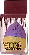 Düfte, Parfümerie und Kosmetik Make-up Schwamm lila-gelb - Bling Powder Puff