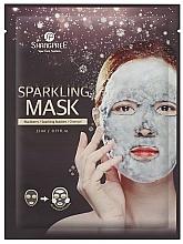 Düfte, Parfümerie und Kosmetik Reinigende Tuchmaske für das Gesicht mit Aktivkohle - Shangpree Sparkling Mask