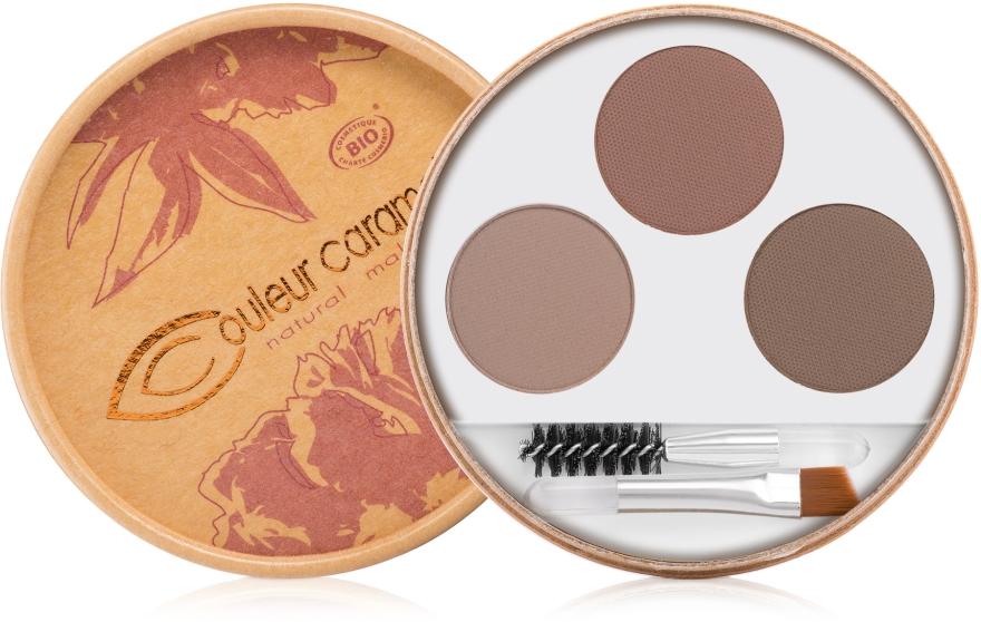 Augenbrauen-Kit zum Formen & Definieren - Couleur Caramel Eyebrow Kit — Bild N1