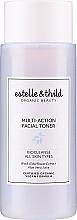 Düfte, Parfümerie und Kosmetik Erfrischendes Gesichtswasser für alle Hauttypen mit schwarzem Holunderblütenextrakt und Aloe Vera - Estelle & Thild BioCleanse Multi-Action Facial Toner