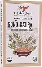 Düfte, Parfümerie und Kosmetik Natürliches Verdickungs-, Geliermittel & Pflege Tragant - Le Erbe di Janas Gonda Katira (Tragacanth)