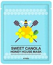 Düfte, Parfümerie und Kosmetik Folienmaske mit Honig - A'pieu Sweet Canola Honey House Mask