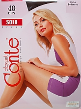 Düfte, Parfümerie und Kosmetik Strumpfhose für Damen Solo 40 Den Mocca - Conte