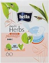 Düfte, Parfümerie und Kosmetik Slipeinlagen Panty Herbs Sensetive Plantago 60 St. - Bella