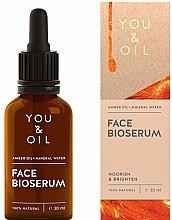 Düfte, Parfümerie und Kosmetik Pflegendes und aufhellendes Gesichtsserum - You & Oil Amber. Face Bioserum