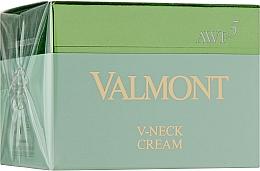Düfte, Parfümerie und Kosmetik Anti-Aging Hals- und Dekolleté-Creme - Valmont V-Neck Cream