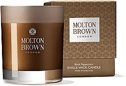 Düfte, Parfümerie und Kosmetik Molton Brown Black Peppercorn Single Wick Candle - Duftkerze im Glas Schwarzes Pfefferkorn
