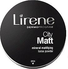 Düfte, Parfümerie und Kosmetik Loser Gesichtspuder - Lirene City Matt Mineral Mattifying Loose Powder