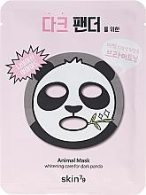 Düfte, Parfümerie und Kosmetik Aufhellende Tuchmaske - Skin79 Animal Mask For Dark Panda