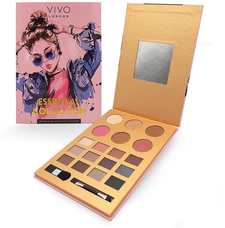 Make-up Palette - Vivo London Essential Collection Palette