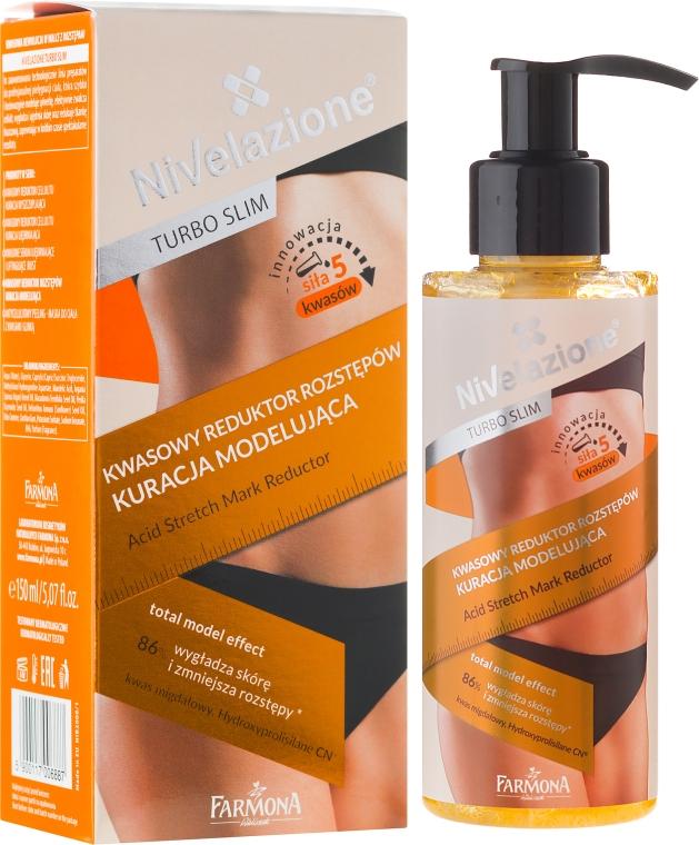 Straffende Körpermaske gegen Dehnungsstreifen - Farmona Nivelazione Turbo Slim Acid Stretch Mark Reductor