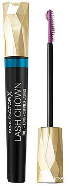 Wasserfeste Wimperntusche - Max Factor Lash Crown Mascara Waterproof