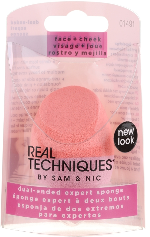 Make-up Schwamm - Real Techniques Dual-Ended Expert Sponge