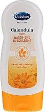 Düfte, Parfümerie und Kosmetik Baby Wasch- und Duschcreme mit Bio-Calendula - Bubchen Calendula Washing Cream