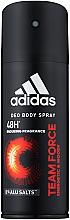 Düfte, Parfümerie und Kosmetik Adidas Team Force - Deodorant