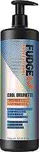 Düfte, Parfümerie und Kosmetik Blauer Conditioner gegen Rot- und Orangetöne für farbbehandeltes brünettes Haar - Fudge Cool Brunette Blue-Toning Conditioner