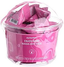 Düfte, Parfümerie und Kosmetik Gesichtsmasken-Set mit Kalaminpulver - Ayoume Enjoy Mini Wash-Off Pack (Maske 30x3g)