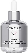 Düfte, Parfümerie und Kosmetik Verjüngende Creme für Gesicht, Kinn und Augenpartie - Yonelle Trifusion Eye-Face-Chin Liquid Cream Tensor