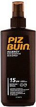 Düfte, Parfümerie und Kosmetik Sonnenschutzspray für den Körper SPF 15 - Piz Buin Allergy Spray SPF 15